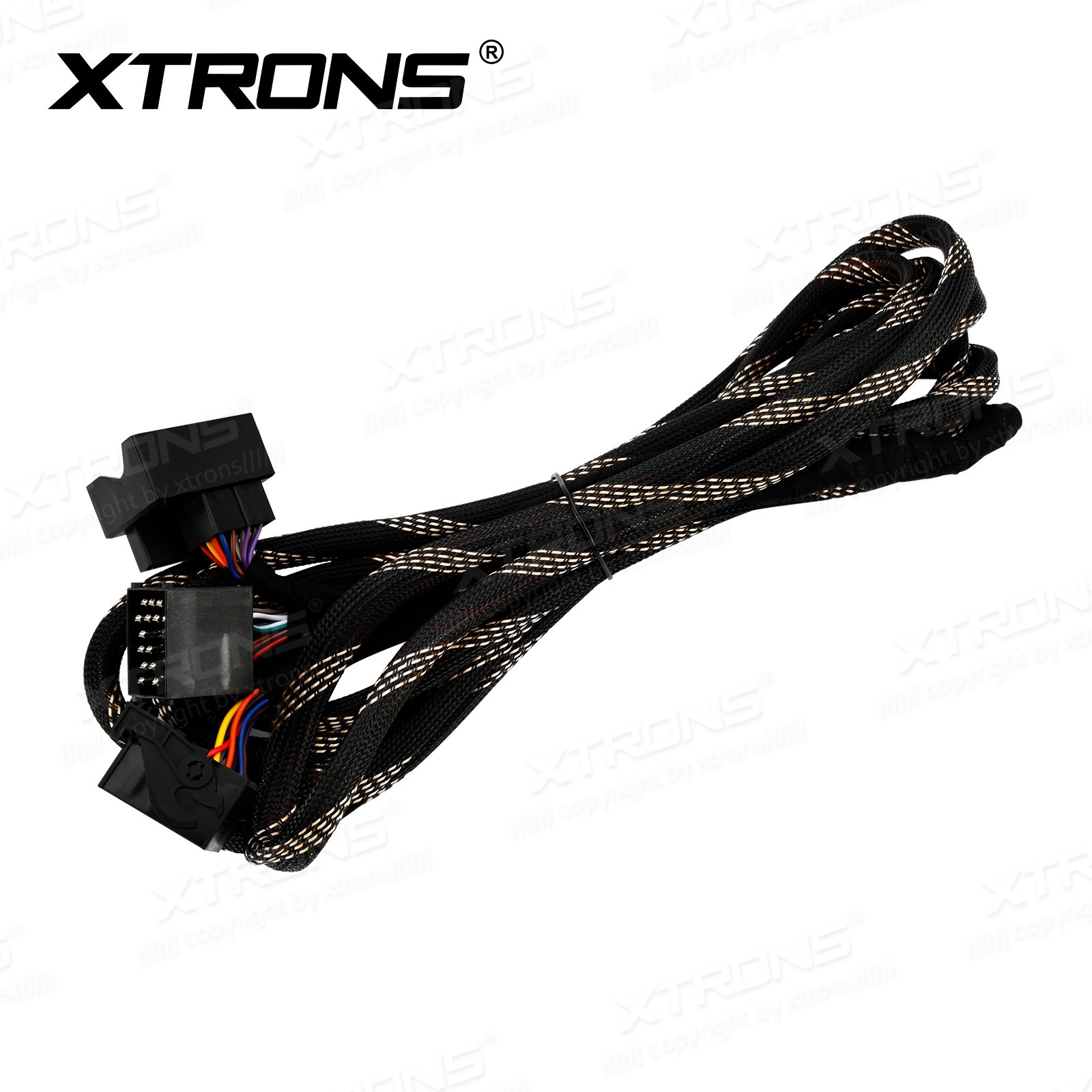 Extra Long 6 Meters ISO Wiring Harness for BMW