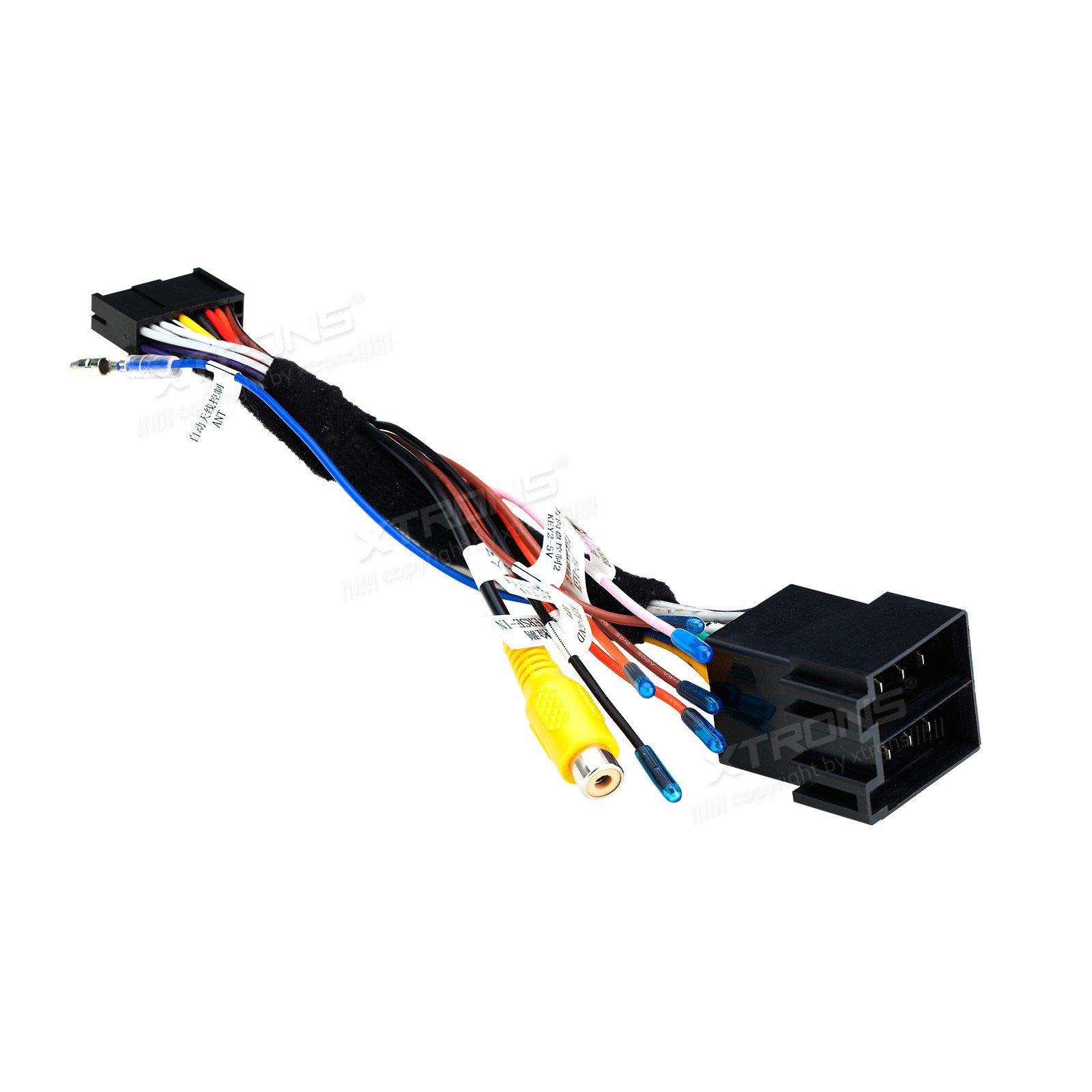 Iso Wiring Harness For The Installation Of Xtrons Bmw E46 Units On Installing A Rover 75 Mg