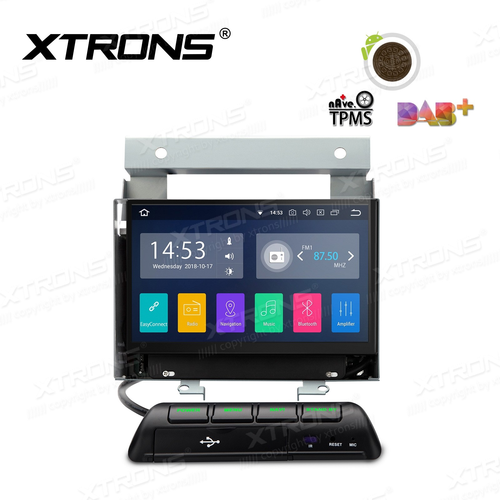 """7""""Android 8.1 Quad Core 16GB ROM + 2G RAM car stereo multimedia navigation system with Full RCA Output Costom Fit for Land Rover"""