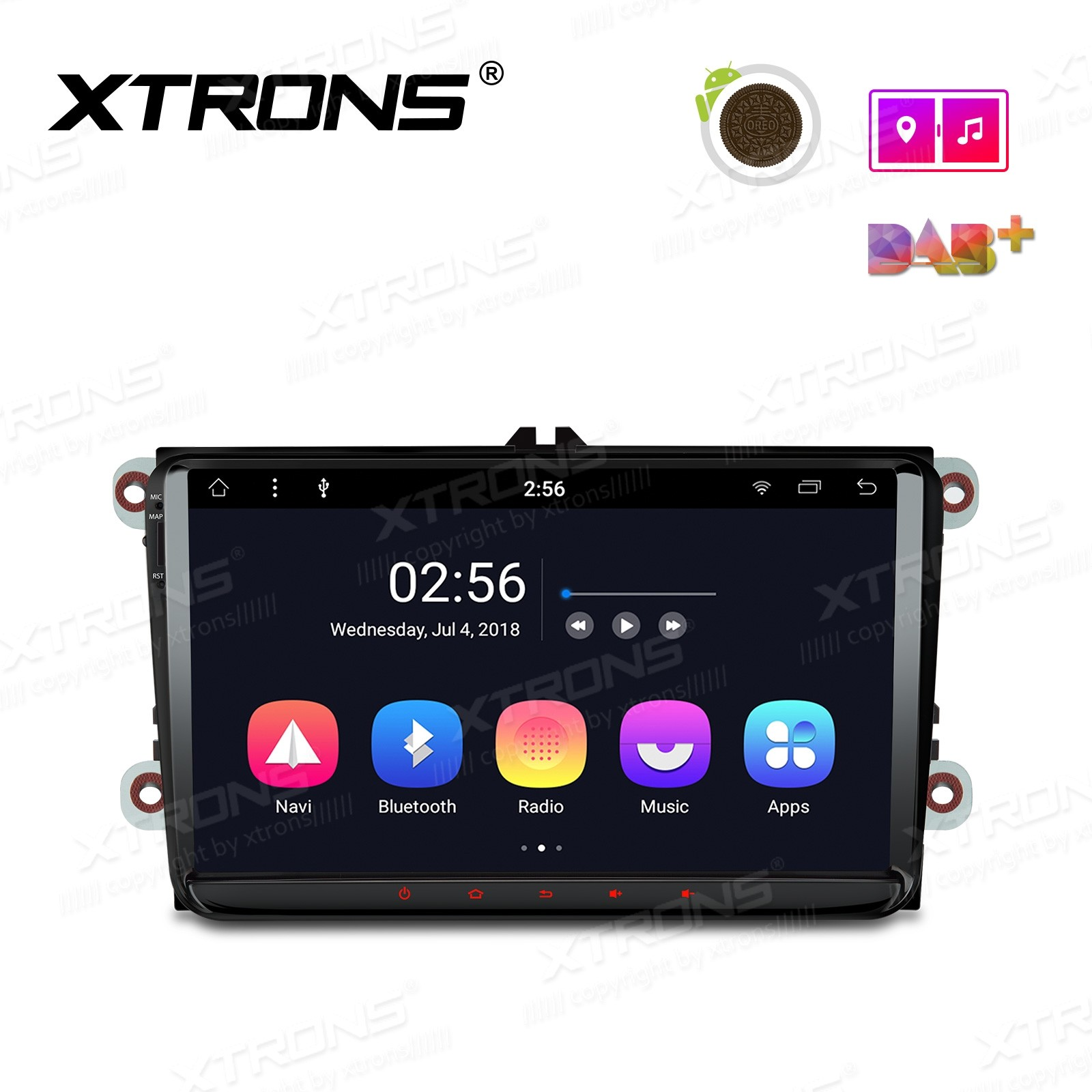 "9"" Android 8.1 Octa-Core Car Stereo Smart Multimedia Player Custom fit for Volkswagen"