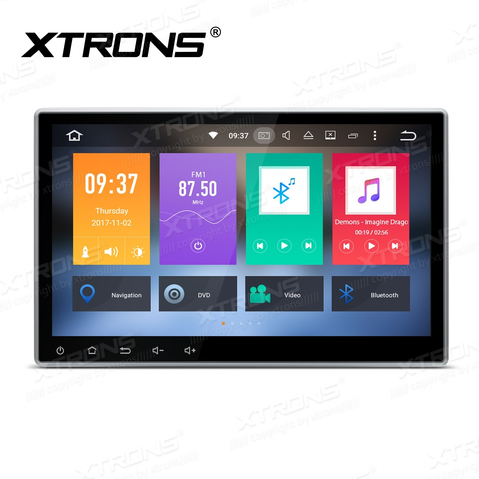 "10.1"" HD Digital Octa-Core Android 6.0 32GB ROM + DDR3 4G RAM Touch Screen Car DVD Player"