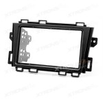 Radio Panel for NISSAN Murano 2008+ Double Din Headunit Fascia Plate Installation CD Facia