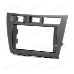 Radio Fascia for TOYOTA Mark II (JZX110) Verossa Stereo Facia Surround Panel Plate CD Frame