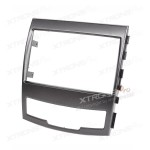 Radio Fascia for SSANG YONG Actyon / Korando Double Din Stereo Fascia Panel Dash Trim Kit Plate