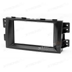 KIA Mohave, Borrego Car DVD Player Double Fascia Surround Trim Panel