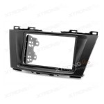 Double Din Radio Fascia for Nissan, Mazda Facia Panel Trim Faceplate