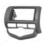 Double Din In-dash Car Audio Installation Kit Fascia Plate for HONDA with Auto Air-conditioning