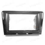 Double Din Fascia Fascia Adaptor Panel Fitting Surround for VOLKSWAGEN Santana / Bora