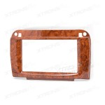 Mercedes-Benz SL-klasse (R230) Double Din Wooden Fascia Panel Fascia Surround Adaptor Plate