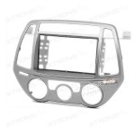 HYUNDAI i-20 Double Din Fascia Panel Fascia Surround Adaptor Plate (Manual Air-Conditioning)