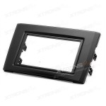 Double Din In-dash Car Audio Installation Kit Fascia Plate for VOLVO XC90 2002 Onwards