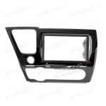 Honda Civic Sedan Car DVD Player Double Fascia Surround Trim Panel