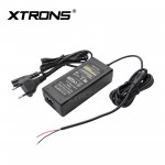 EU 2 Pin AC/DC Power Supply Adapter Plug for XTRONS Overheard Units Home Use