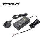 UK AC/DC Power Supply Adapter Plug for XTRONS Overheard Units Home Use