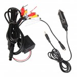 Xtrons CL004 In Car Cigarette Charger for Headrest DVD Player Twin Screen Dual Monitor