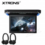 """12.1"""" HD Digital TFT Screen Ultra-thin Roof  Mounted Monitor 16:9 wide screen with HDMI Port"""