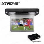 """13.3"""" 1080P Video HD Digital TFT Monitor Wide Screen Car Roof Player with HDMI Port"""