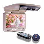 "9"" Digital Screen Car Roof DVD Player with Built-in IR & FM Transmitter"