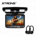 "9"" TFT Digital screen 16:9 monitor Car Roof DVD Player with 2 Headphones"