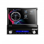 """7"""" Motorized Detachable HD Touch Screen One Din Car DVD Player With Screen Mirroring Function"""