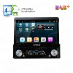 "7"" HD Digital Detachable Android 6.0 Marshmallow Quad Core Multi-touch Screen Single Din Car Stereo"