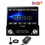 "7"" HD Digital DAB+ Tuner Ready Motorized Detachable Touch Screen DAB ready Single Din Car DVD Player GPS Navigator"