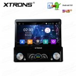 7 inch HD Digital Detachable Multi-touch Screen Android 9.0 1080P Video Single Din Car DVD player