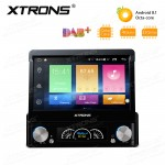 "7"" Android 8.1 Octa-Core Built-in DSP Universal Single DIN DVD Navigation System"