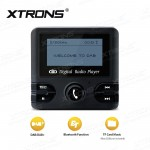 Digital DAB RADIO RECEIVER with FM Transmitter & Bluetooth Function