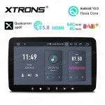10.1 inch Android 10.0 4G RAM + 64GB ROM Hexa Core 64Bit Processor Qualcomm Bluetooth 5.0 Car Navigation system with Adjustable Display and HDMI Output
