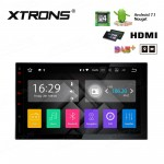 "7"" HD Digital Screen Built in DSP Android 7.1 Quad Core 16GB ROM + 2G DDR3 RAM HDMI Car Stereo"