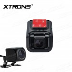 Car front DVR video recorder & Reversing camera safety system