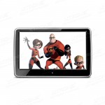 "10.1"" HD Digital TFT Capacitive Touch Screen 1080P Video Car Headrest DVD Player"