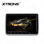 2 pcs 10.1 inch Headrest Mounted DVD Player with Grade-A Digital TFT Screen
