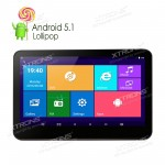 """10.1""""  First  Android 5.1  Quad Core  Capacitive Touch Screen  Win8 UI  HD Digital 1080P Video    Headrest DVD Player in Aftermarket with HDMI Port"""