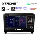 7 inch Android 10.0 Octa-Core 64G ROM + 4G RAM Plug & Play Design Car Navigation System Car DVD Player for Audi