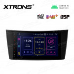 8 inch Android 10.0 Octa-Core 64G ROM + 4G RAM Qualcomm Bluetooth Car Stereo Multimedia GPS System for Mercedes-Benz