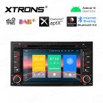 "7"" Android 10.0 Navigation system Car DVD player with plug-and-play design Custom Fit for SEAT"