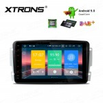 8 inch Android 9.0 car stereo Multimedia Navigation system plug-and-play design Custom Fit for Mercedes-Benz