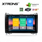 9 inch Android 9.0 car stereo Multimedia Navigation system plug-and-play design Custom Fit for Mercedes-Benz