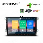 "9"" Android 9.0 car stereo Multimedia Navigation system plug-and-play design Custom Fit for Volkswagen 