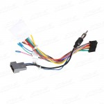 ISO Harness Cable For The Installation Of Xtrons TD619G & TD618A In Nissan Cars