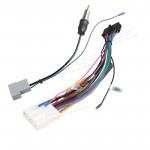 Iso Wiring Harness for the Installation of XTRONS TD626AB &TD626ABD in Nissan Cars