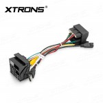 ISO Extension Cable 40 Pin Quadlock to 52 Pin MQB Qualdlock Adapter for VW