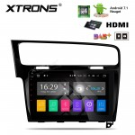 "10.1"" Android 7.1 Quad Core 16GB ROM + DDR3 2G RAM HD Digital Multi Touch Screen HDMI Car Stereo Costom fit for Volkswagen Golf 7"
