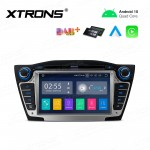 7 inch Android 10.0 Infotainment System Car GPS Navigation Multimedia DVD Player Custom Fit for Hyundai