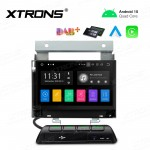 7 inch Android 10.0 Infotainment System Double DIN Multimedia Car Stereo Custom Fit for land Rover