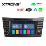 7 inch Android 10.0 Infotainment System Car GPS Navigation Multimedia DVD Player Custom Fit for Mercedes-Benz
