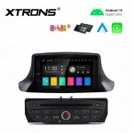 7 inch Android 10.0 Infotainment System Car GPS Navigation Multimedia DVD Player Custom Fit for Renault