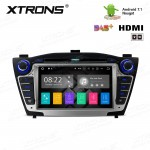 "7""Android 7.1 Quad Core 16GB ROM + 2G RAM HD Digital Touch screen HDMI Car DVD Player Costom Fit for Hyundai IX35 / Tucson"